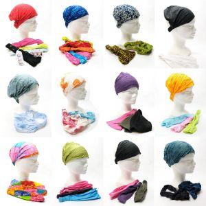 Stock di Bandane elastiche modelli e colori assortiti