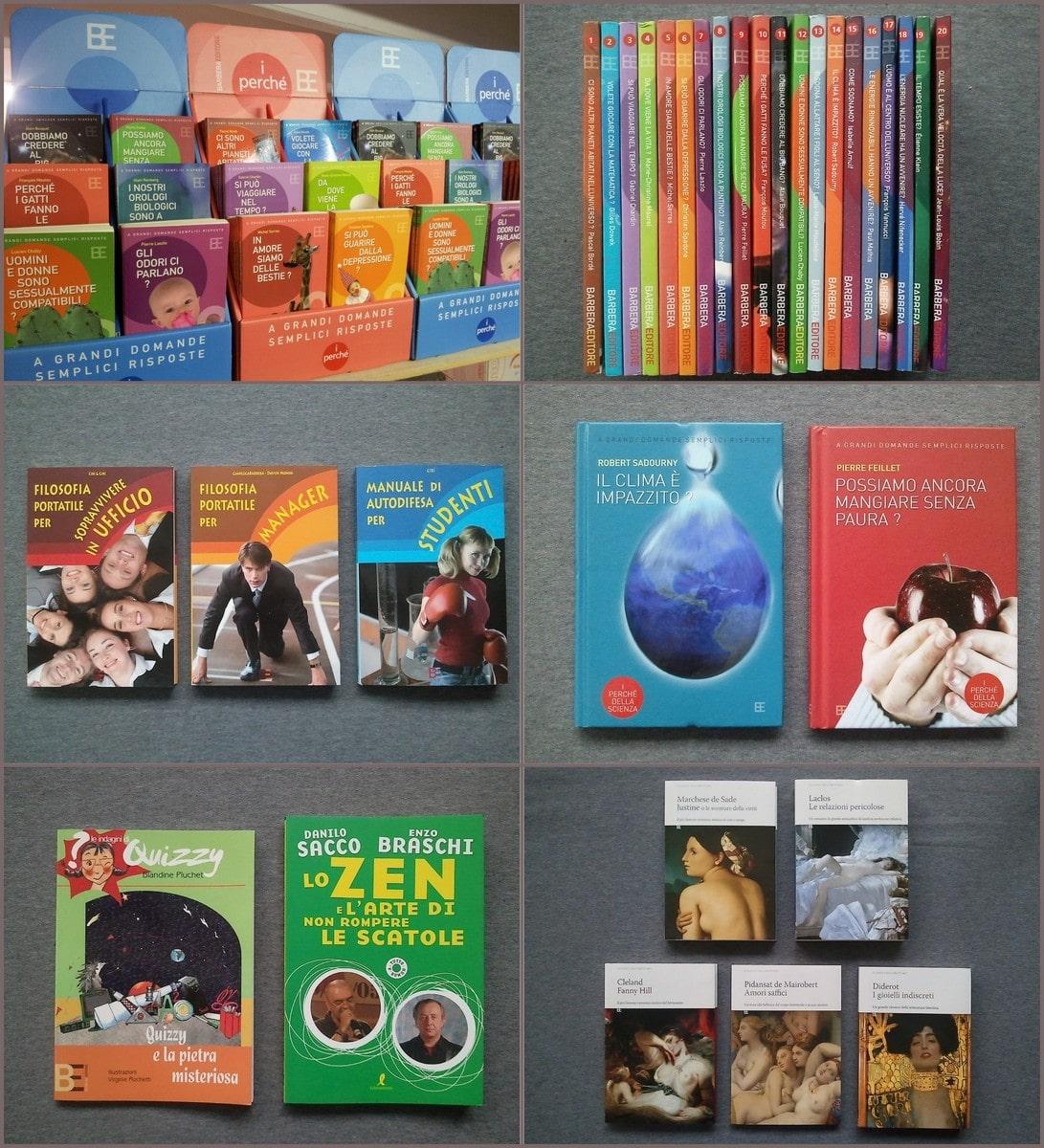 Stock Libri vari